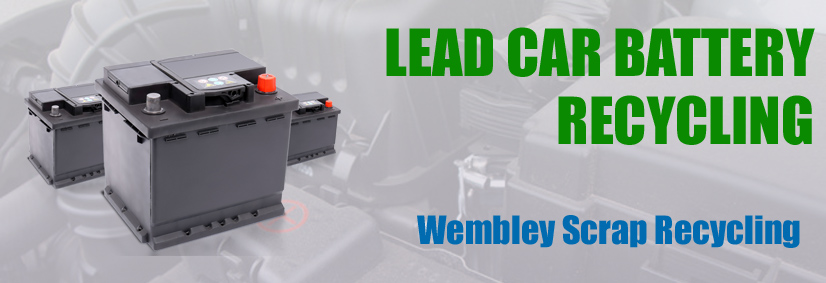 Lead car batteries recycling Wembley, London